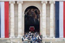 L'hommage populaire à Jacques Chirac aux Invalides, le 29 septembre 2019.