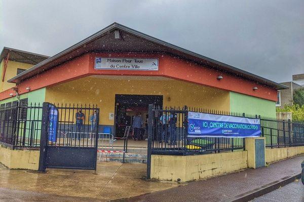 vaccination 10ème centre de l'île Saint-Joseph 200921