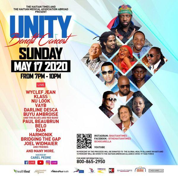 concert caritatif Unity