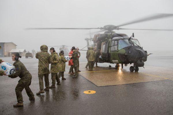 Australie : l'armée au secours des populations de l'Etat du Queensland
