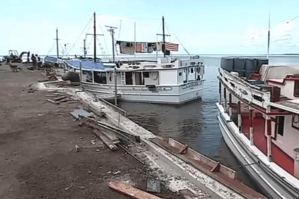 Aménagement des garde-corps du Vieux Port