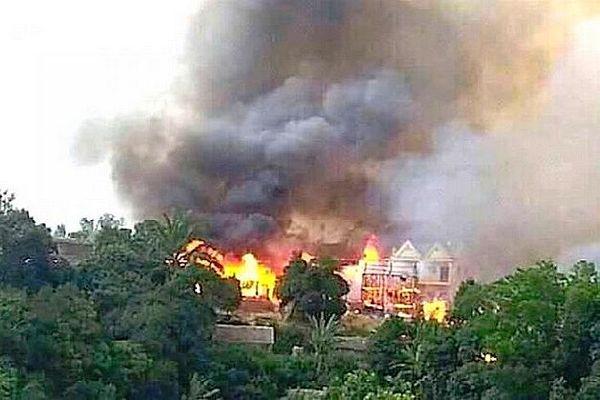 Incendie à Akaramalaza 127 maisons détruites nove 2019