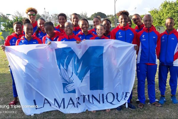 Sélection de Martinique de natation