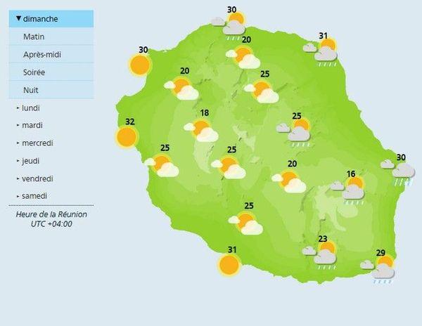 carte météo matin 130119