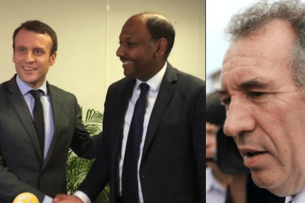 Bayrou Macron Thierry Robert
