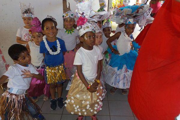 Les élèves de l'école maternelle Joséphine Horth