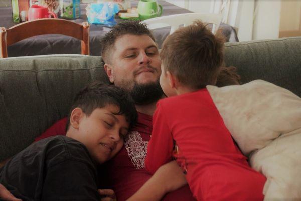 Serge et ses garçons