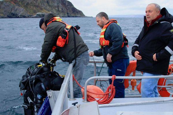 Secours SNSM plongeurs