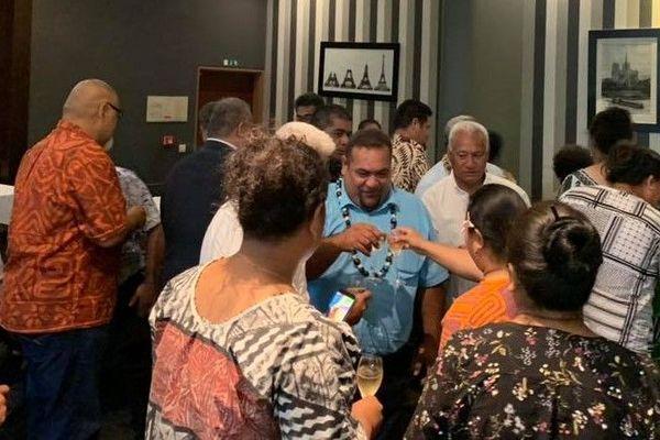 Les rois de Wallis et Futuna accueillis par la communauté