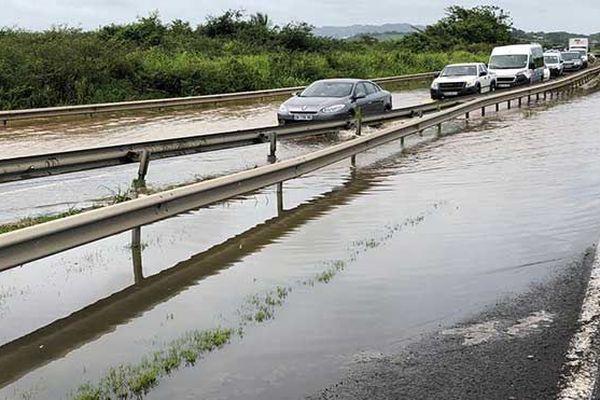 Inondations routes
