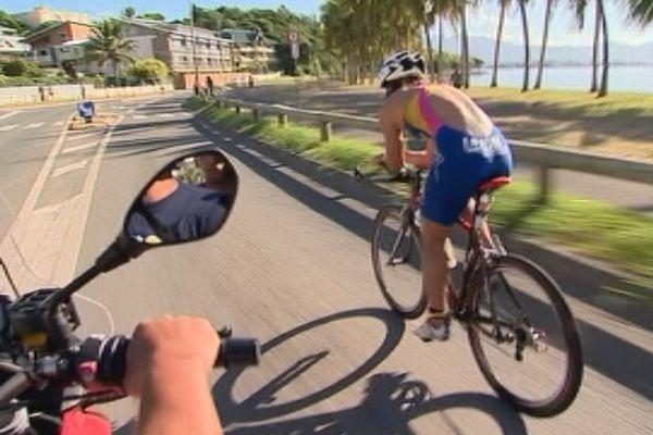 2ème épreuve du triathlon international de Nouméa : 10 km de vélo