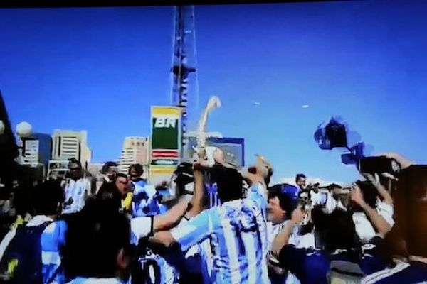 Neymar danse argentine