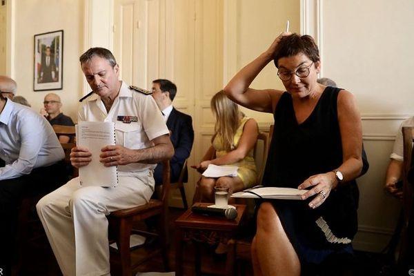 La ministre des Outre-mer a entamé sa visite à La Réunion par une rencontre avec l'Observatoire des prix, des marges et des revenus (OPMR).