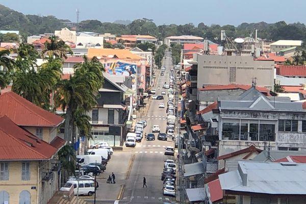 Cayenne vue du Fort Cépérou