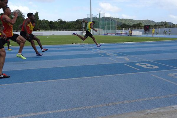 Loïc Prévot sur 200 mètres