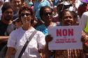 """""""Manif pour tous"""" en Nouvelle-Calédonie: 300 personnes pour dire non au mariage homosexuel."""