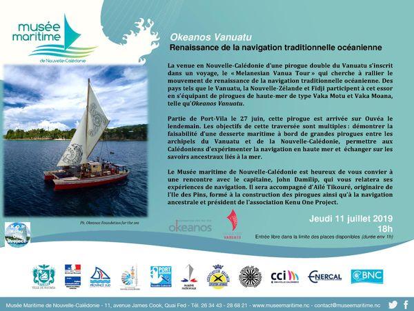 Okeanos pirogue musée maritime