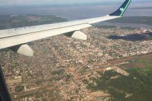Macapa en Amapa au bord du fleuve Amazone