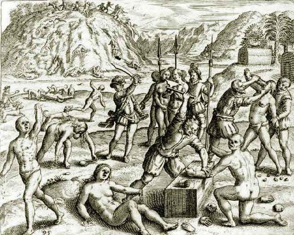 Massacre d'amérindien