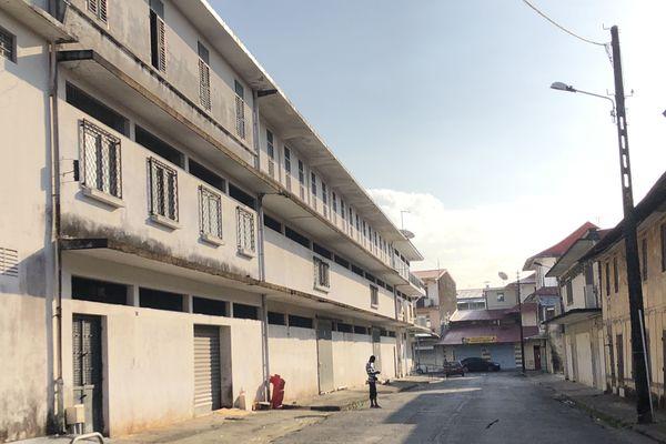 L'immeuble qui devrait accueillir l'Ifsi