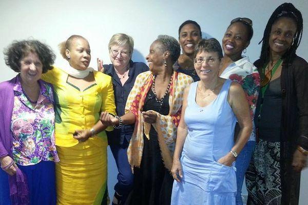 Les participantes à  l'atelier d'écriture 2014