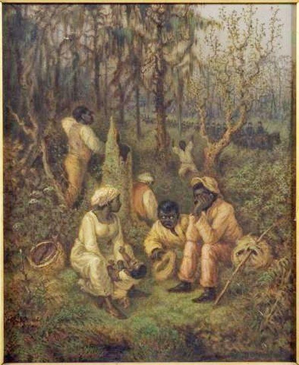 esclaves en fuite