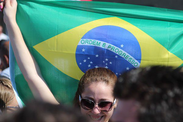 Une JMJiste brésilienne