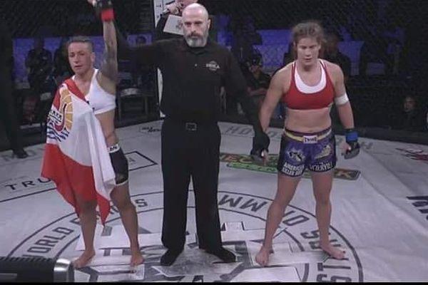 Combat Flore Hani contre Victoria Leonaado