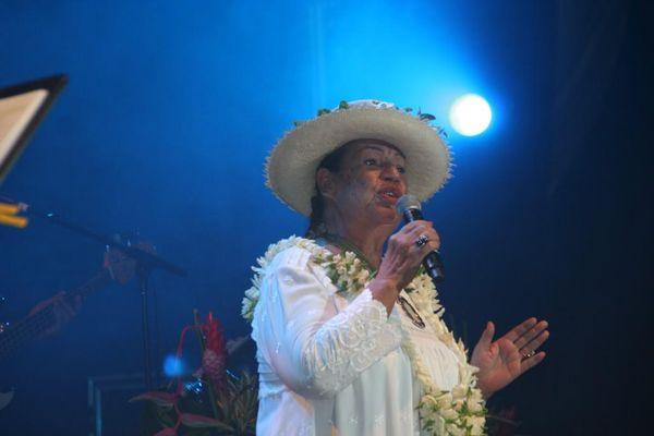 Esther Tefana, la grande dame de la chanson polynésienne, est décédée