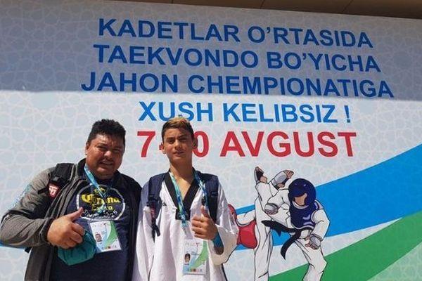 Ariihei Lehartel décroche la médaille de bronze aux championnats du monde