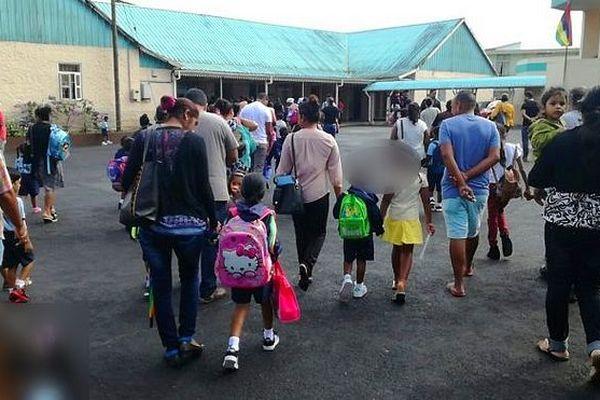 Rentrée scolaire à l'île Maurice