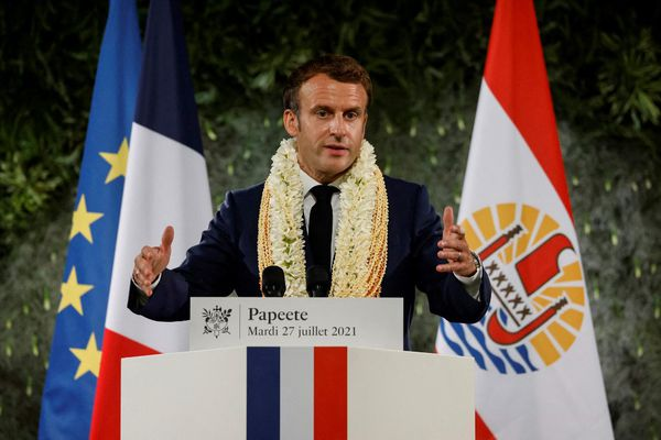 Polynésie Macron
