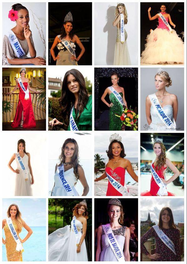 Candidates Miss France suite