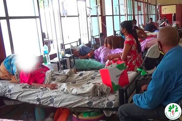 Malade Covid à Madagascar avrl 2021