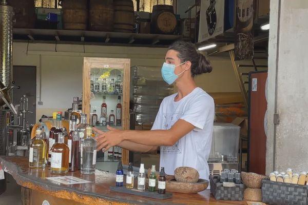 rhum taha'a / distillerie