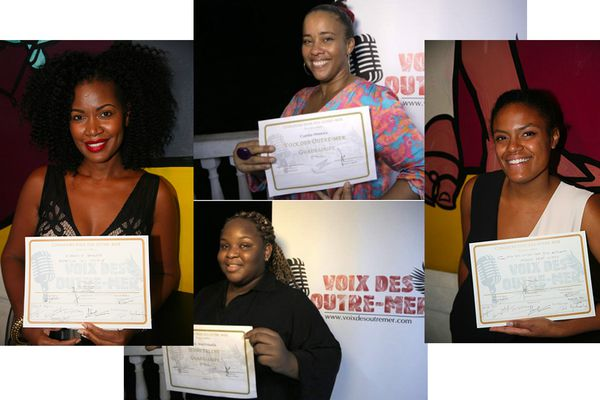 Voix des Outre-Mer finalistes guadeloupéens