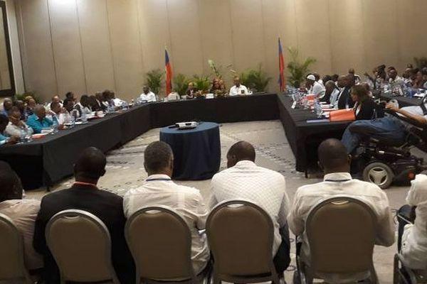 Haïti réunion opposition