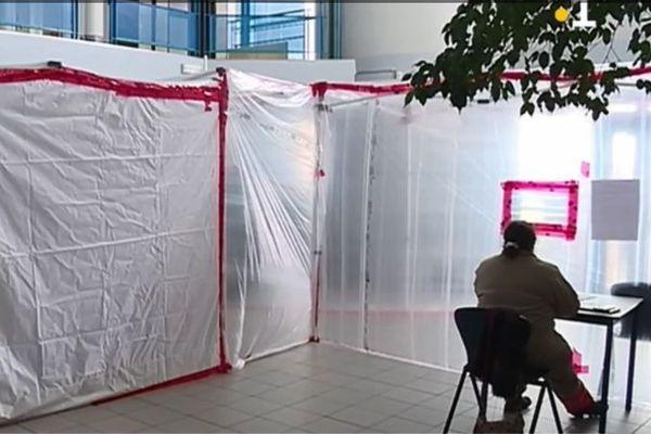Un centre expérimental de dépistage du coronavirus