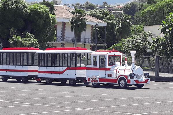 Le petit train de Tahiti