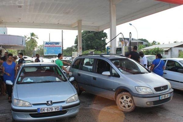 Grève essence : bouchons