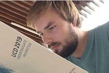 Jesse Steinacker, étudiant allemand