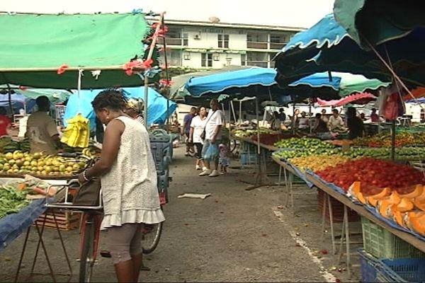 Le marché de Kourou