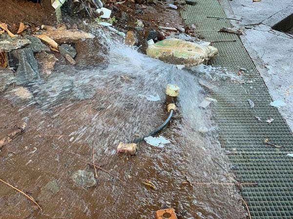 la crise de l'eau pointe son nez