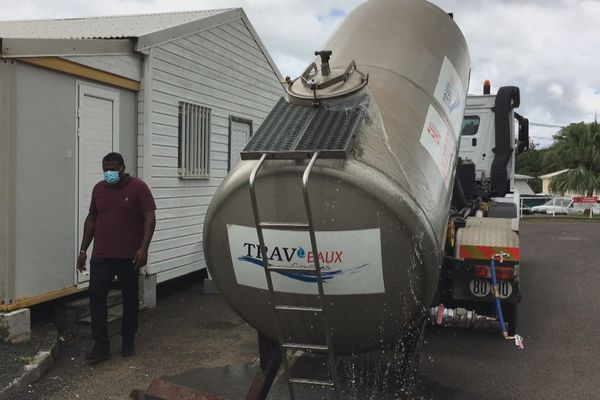 camion d'eau
