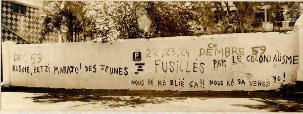Décembre 59 en MArtinique