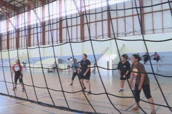 Tournoi de volley-ball inter-village de Hahake