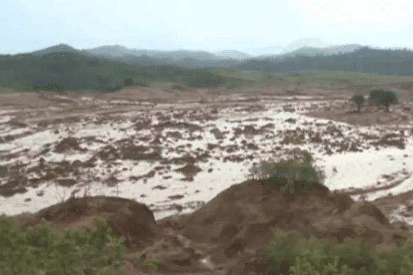 Coulée de Boue au Brésil