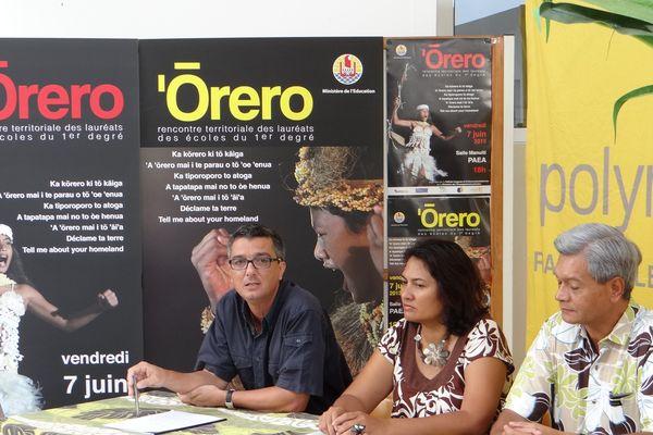 conference de presse Orero 05 06 2013