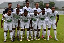 Les joueurs du Club Franciscain en 32e de finale de la coupe de France.