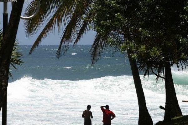 La plage de Grand-Anse.